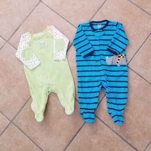 Other - Little Boys Footed Onesies Bundle